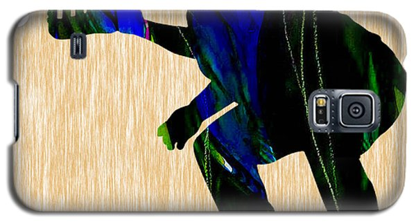 Baseball Catcher Galaxy S5 Case by Marvin Blaine