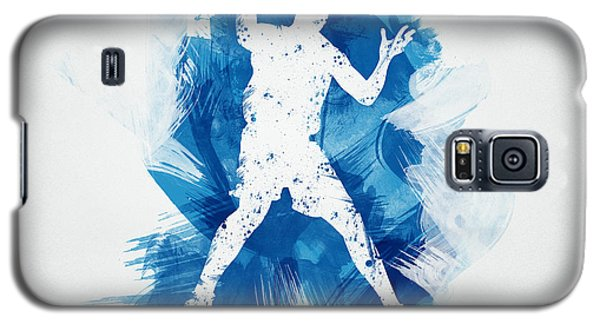 Sport Galaxy S5 Case - Basketball Player by Aged Pixel