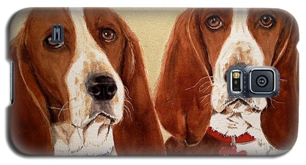Basset Hounds Galaxy S5 Case