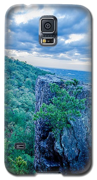 Beautiful Aerial Landscape Views From Crowders Mountain Near Gas Galaxy S5 Case