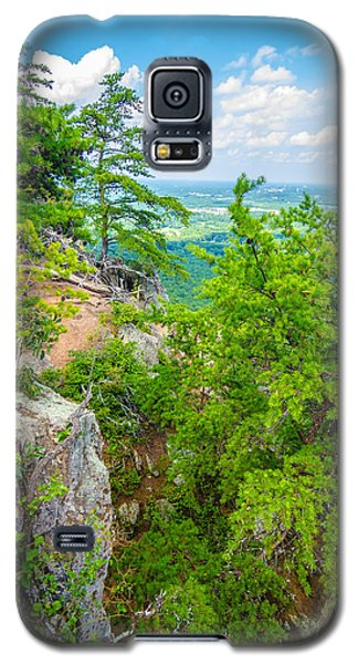 Beautiful Aerial Landscape Views From Crowders Mountain North Ca Galaxy S5 Case