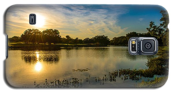 Berry Creek Pond Galaxy S5 Case