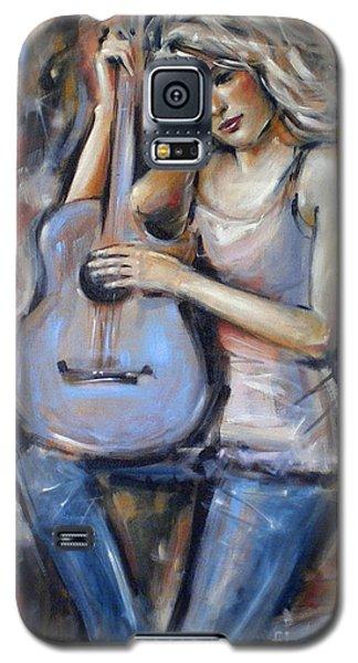 Blue Guitar 010709 Galaxy S5 Case