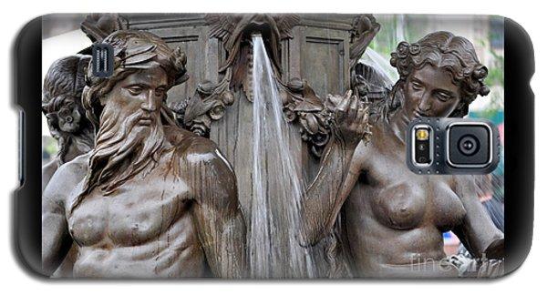 Brewer Fountain Boston Ma  Galaxy S5 Case