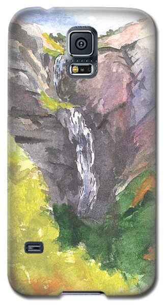Bridal Veil Falls Galaxy S5 Case by Sherril Porter