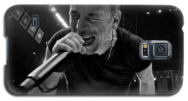 Galaxy S5 Case featuring the photograph Bruce Springsteen by Jeff Ross