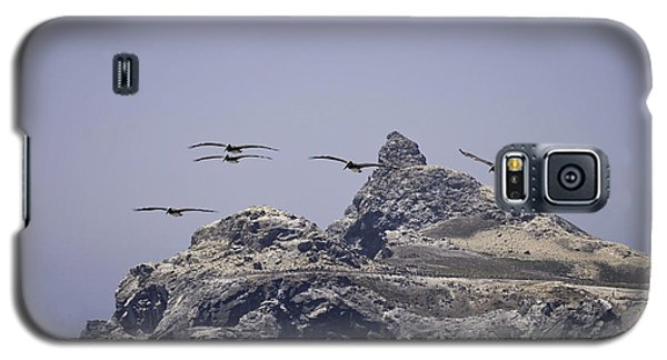 Galaxy S5 Case featuring the photograph Castle Rock by Betty Depee
