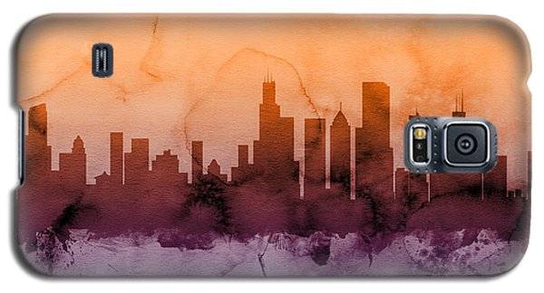 Chicago Illinois Skyline Galaxy S5 Case by Michael Tompsett