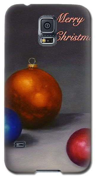 Galaxy S5 Case featuring the painting Christmas Glow by Jo Appleby