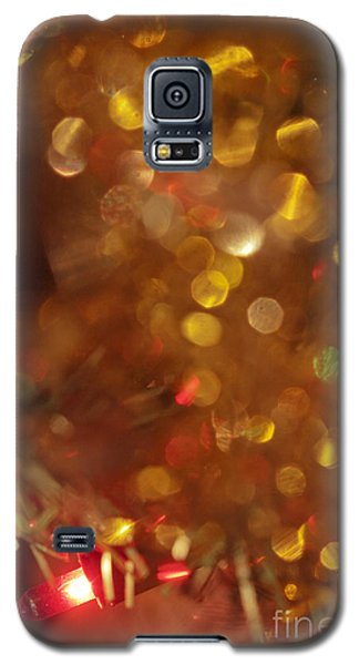 Christmas Tree Decorated  Galaxy S5 Case