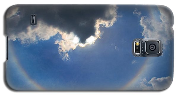 Circular Rainbow Galaxy S5 Case