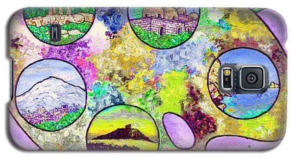 Sicily On A Palette Galaxy S5 Case by Loredana Messina