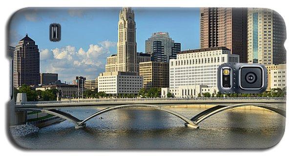 Columbus Ohio Skyline Photo Galaxy S5 Case