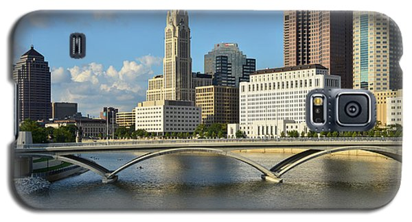 Columbus Ohio Skyline Photo Galaxy S5 Case