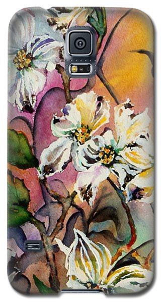 Dance Of The Dogwoods Galaxy S5 Case by Lil Taylor