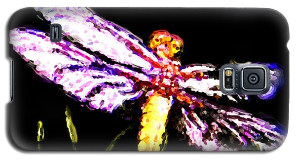 Galaxy S5 Case featuring the painting Dragonfly by Daniel Janda