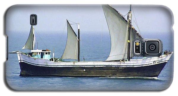 Fishing Vessel In The Arabian Sea Galaxy S5 Case