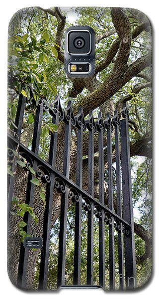 Galaxy S5 Case featuring the photograph Gates Of Charleston by Gina Savage