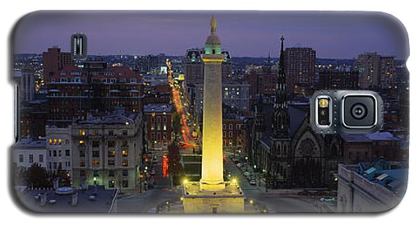 High Angle View Of A Monument Galaxy S5 Case