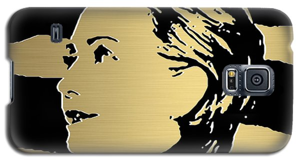 Hillary Clinton Gold Series Galaxy S5 Case by Marvin Blaine