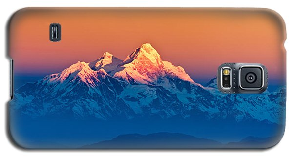 Himalayan Mountains View From Mt. Shivapuri Galaxy S5 Case