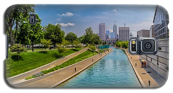 Indianapolis Skyline From The Canal Galaxy S5 Case