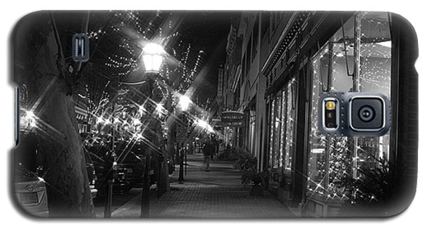 It's Christmas Time In The City Galaxy S5 Case by Living Color Photography Lorraine Lynch