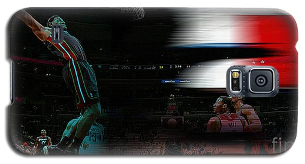 Lebron James Galaxy S5 Case by Marvin Blaine