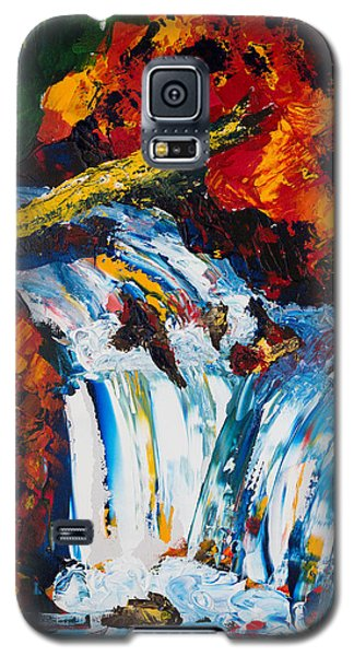 Log And Waterfall Galaxy S5 Case