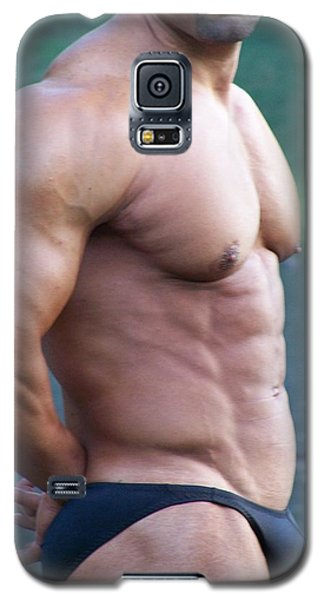 Galaxy S5 Case featuring the photograph Marius Muscle Art by Jake Hartz