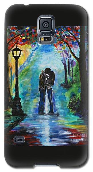 Moonlight Kiss Galaxy S5 Case by Leslie Allen