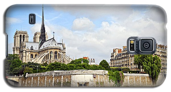Notre Dame De Paris Galaxy S5 Case by Elena Elisseeva
