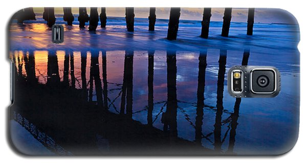 Oceanside Pier At Sunset Galaxy S5 Case