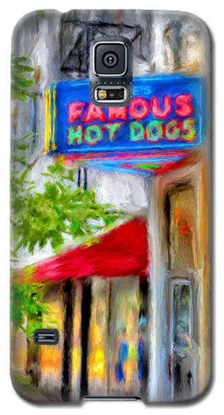 Pete's Famous Hot Dogs Galaxy S5 Case