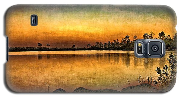 Galaxy S5 Case featuring the photograph Pine Glades Lake by Anne Rodkin