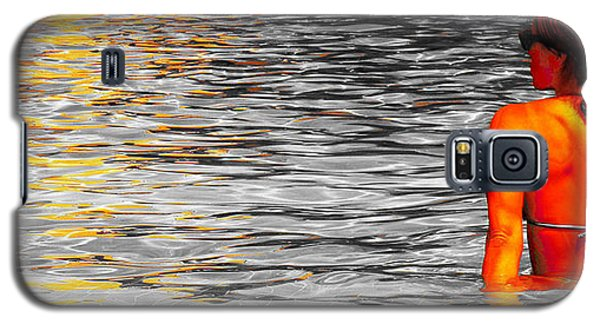 Galaxy S5 Case featuring the photograph Pool by J Anthony