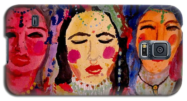 3 Queens Of Color Galaxy S5 Case by Amy Sorrell