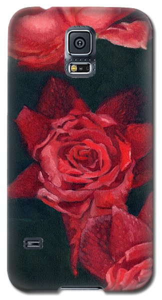3 Roses Red Galaxy S5 Case
