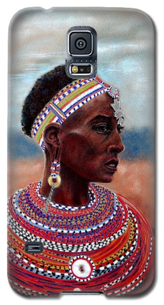 Samburu Woman Galaxy S5 Case