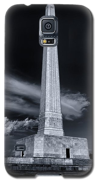 San Jacinto Monument One Sky One Star Galaxy S5 Case by Joshua House