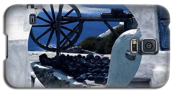 Santorini Island Greece Galaxy S5 Case