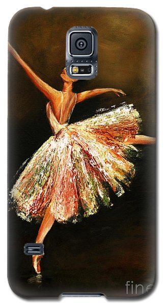 Galaxy S5 Case featuring the painting Second Arabesque by Nancy Bradley