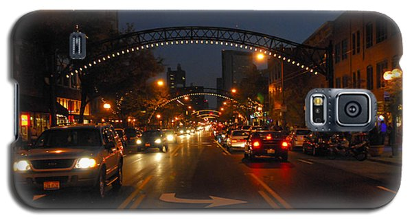 D8l-152 Short North Gallery Hop Photo Galaxy S5 Case