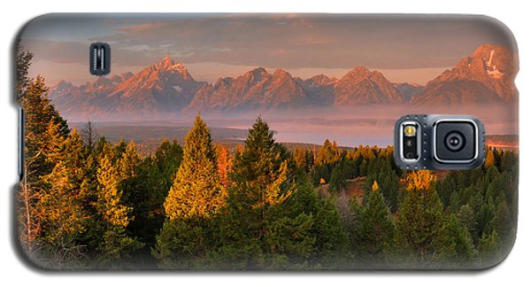 Signal Mountain Sunrise Galaxy S5 Case by Stephen  Vecchiotti