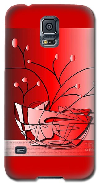 Galaxy S5 Case featuring the drawing Simplicity by Iris Gelbart