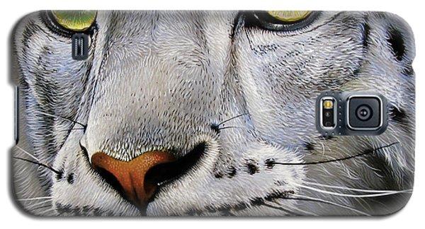 Snow Leopard Galaxy S5 Case by Jurek Zamoyski