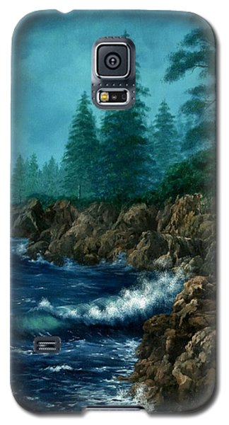 Galaxy S5 Case featuring the painting Solitude by Lynne Wright