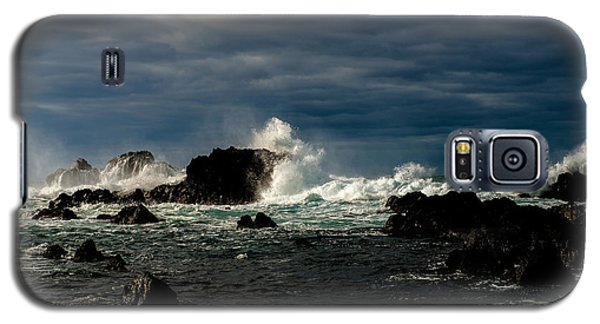 Stormy Seas And Skies  Galaxy S5 Case