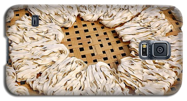 Sun Dried Noodles In Taiwan Galaxy S5 Case by Yali Shi