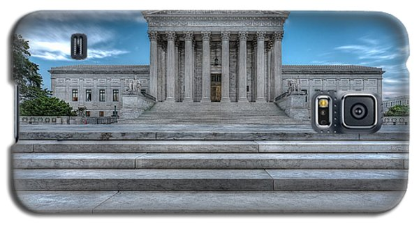 Galaxy S5 Case featuring the photograph Supreme Court by Peter Lakomy